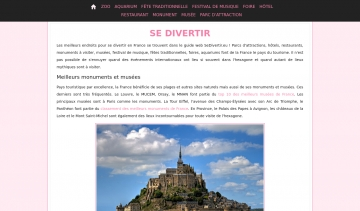 Sedivertir, guide web du divertissement en France.