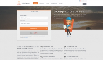 CoCoExpress.fr, service de coursier à Paris