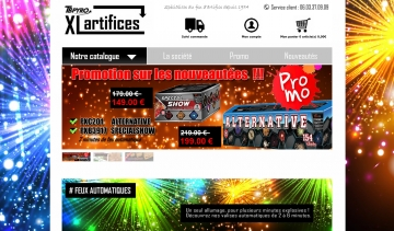 XL-Artifices vente de feux d'artifice en ligne