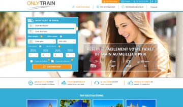Only Train : site de réservation de tickets de train