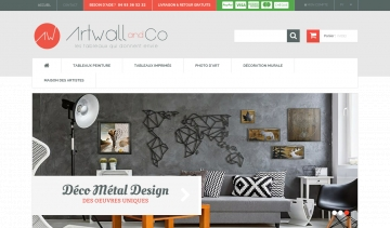 Artwall et co, vente de tableaux et photo d'art