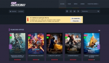 PapStream, la plateforme des films et mangas en streaming