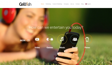 Cellfish, spécialiste de l'entertainment digital