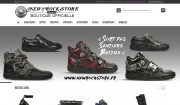 New Rock Store, boutique officielle en France