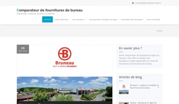Laboutiqueducreatif.fr, comparateur de fournitures de bureau