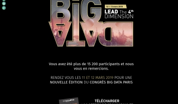 Bigdataparis.com : un congrès qui réunit les experts du Big Data