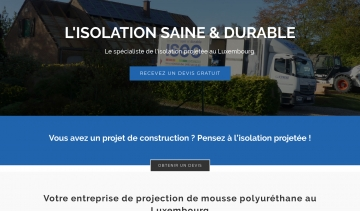 ISEO Projection, l'entreprise d'isolation du Luxembourg