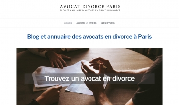 Blogs et guide d'avocats en droit du divorce à Paris