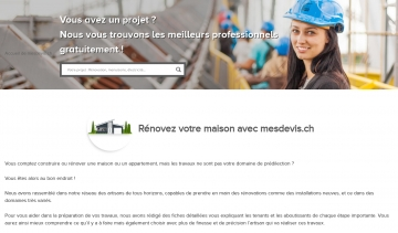MES DEVIS, construction et rénovation de maison