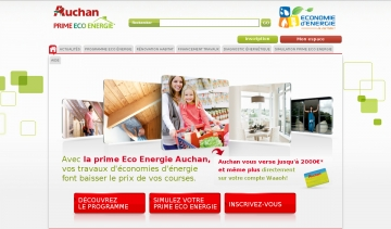 travaux d'isolation auchan prime eco