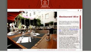 Adresse et avis sur le bottin - Restaurant la maison de marie nice ...
