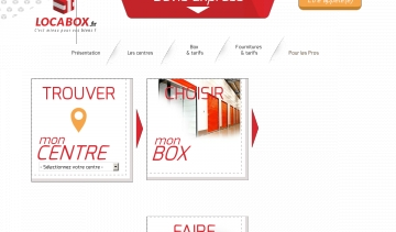 Locabox, box de stockage