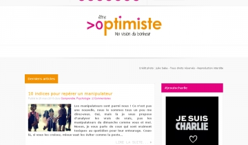 Blog Etre optimiste