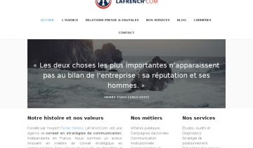 LaFrench'Com, agence de communication de crise