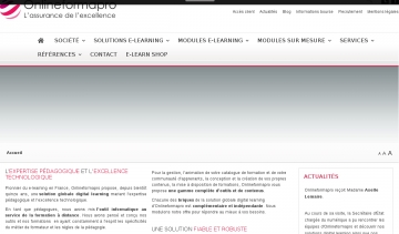 Onlineformation - Solution globale e-learning