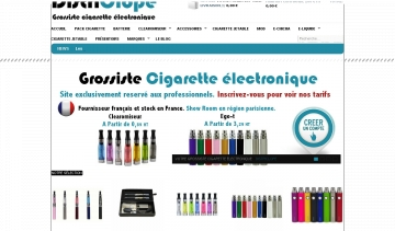 Grossiste cigarette électronique France