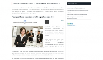 http://www.reconversionprofessionnelle.info/