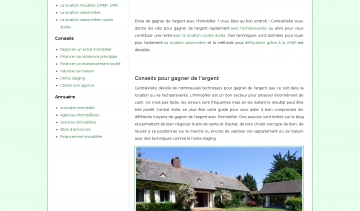 Central Visite, guide d'informations sur le secteur immobilier