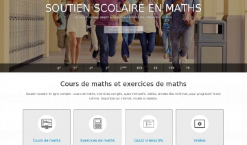 Cours de maths, mathsbook