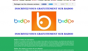 Badoo fr inscription gratuite