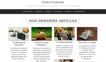 Club finance, la solution idéale pour vos finances.