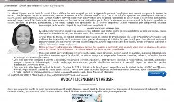 Bfn adresse et avis sur le bottin - Cabinet d avocat specialise en droit du travail ...