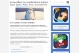 Application Iphone, guide sur l'App Store et les applications