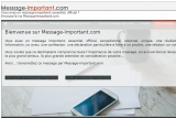 Envoi de messages officiels via Message-Important.com