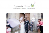 page d'accueil typhanie piton photographe
