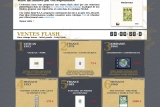 World arts tamps, site de vente flash de timbres par correspondance